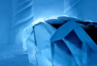 Att sova en natt på Icehotel är en varm upplevelse av en iskall plats.